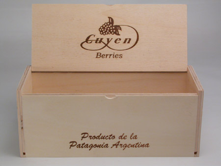 caja para frascos de dulce