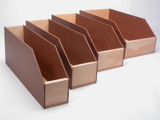 cajas para estanteras