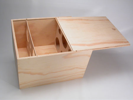 caja para botellas