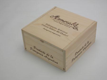 caja para torta galesa